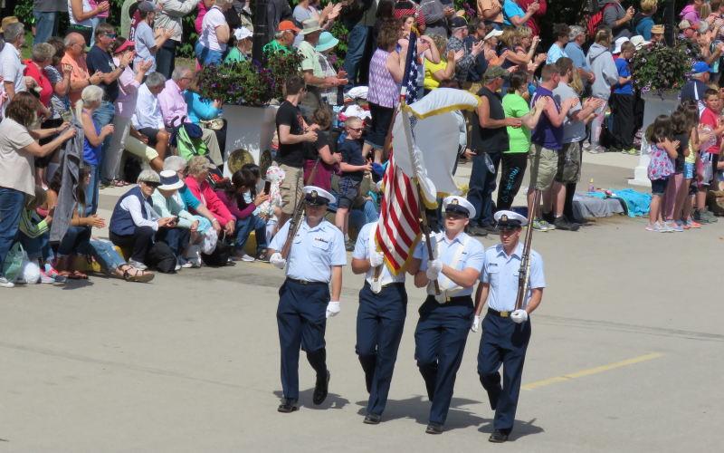 Lilac Festival Parade Mackinac Island Michigan