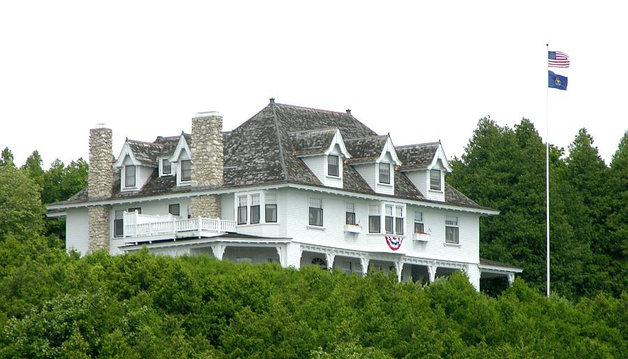 Governor's Summer Residence - Mackinac Island.