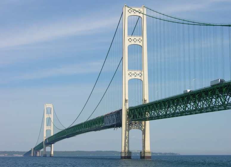 Mackinac Bridge - the Mighty Mac