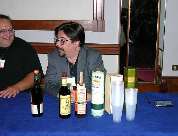 Patrick Nielson Hayden on Whisky panel