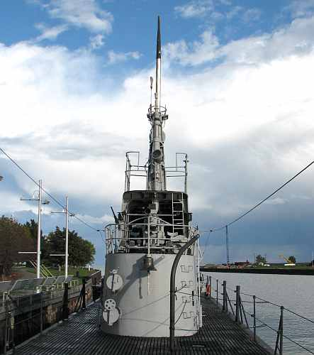 USS Cobia conning tower
