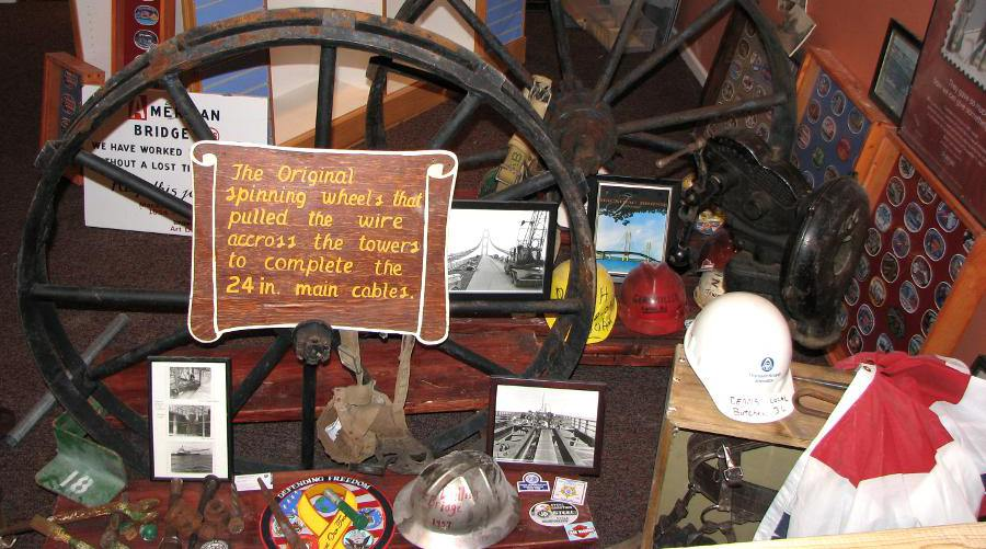 Mackinac Bridge museum exhibits