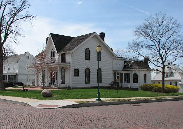 Amelia Earhart Birthplace Museum in Atchinson, Kansas