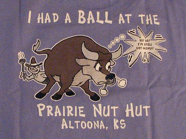 I had a BALL at the Prairie Nut Hut