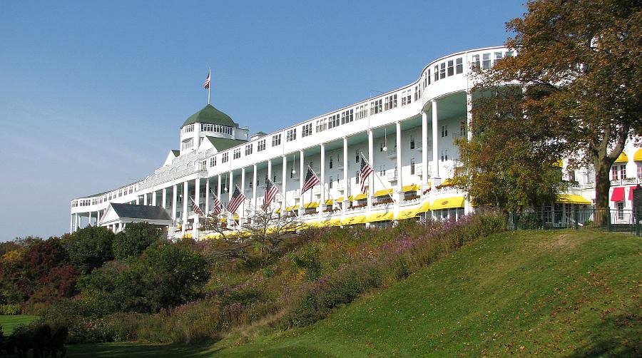 Grand Hotel - Mackinac Island, Michigan