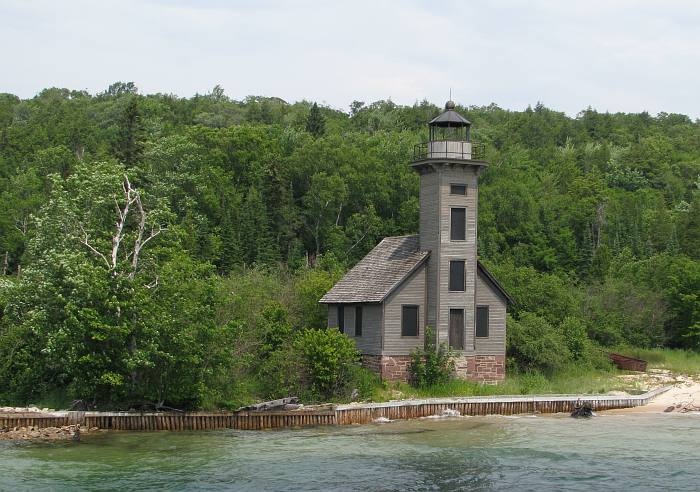 Grand Island East Channel Lighthouse - Munising, Michigan
