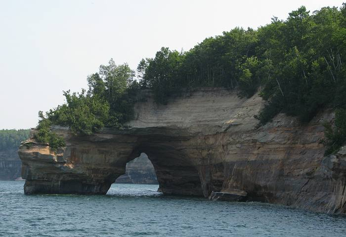 Lover's Leap - Pictured Rocks National Lakeshore