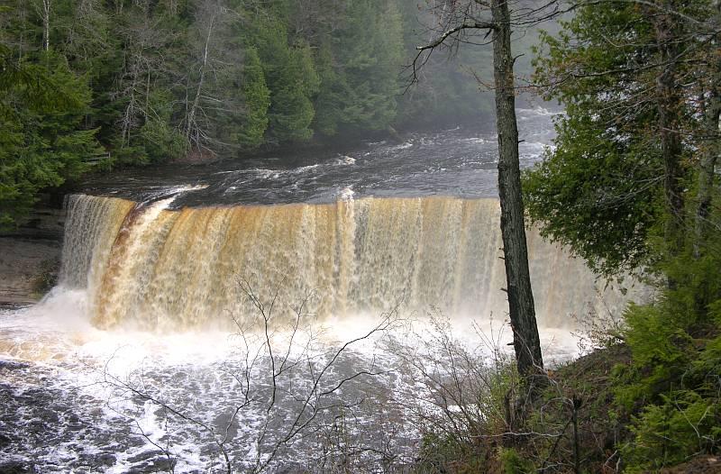 Upper Tahquamenon Falls in the Spring
