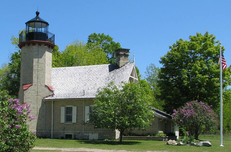 McGulpin's Point Lighthouse - Mackinaw City, Michigan