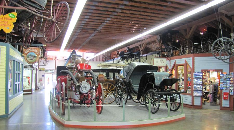 Surrey Hills Carriage Museum - Mackinac Island, Michigan