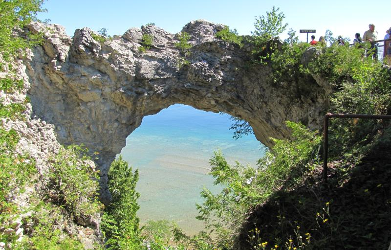 Arch Rock - Mackinac Island, Michigan