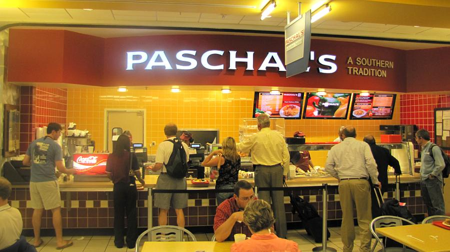 Paschal's restaurant - Atlanta Airport