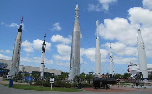 Rocket Garden - Kennedy Space Center