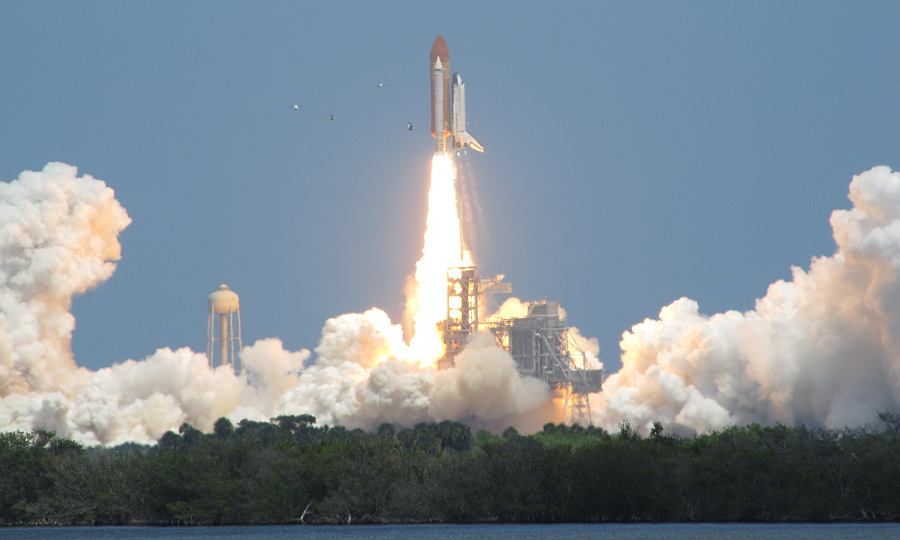 Launch of the Space Shuttle Atlantis STS-132