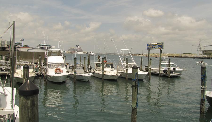 Cape Canaveral harbor