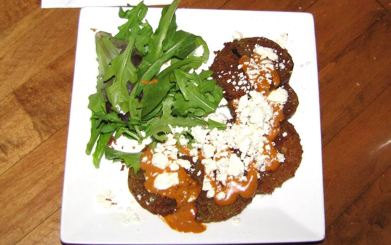 Fried green tomatoes - Harry's Seafood Bar and Grill