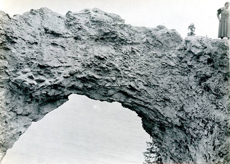 Arch Rock - Mackinac Island, Michigan 1918