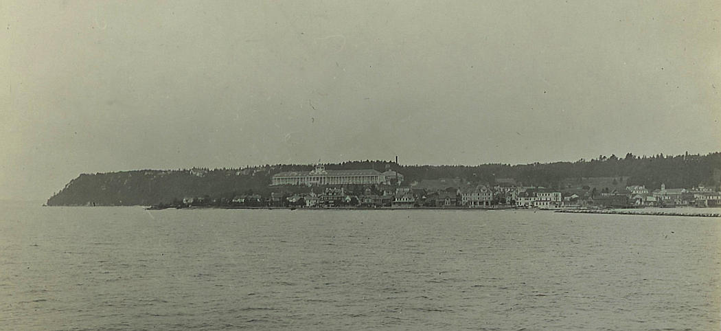 Grand Hotel in 1918 - Mackinac Island, Michigan
