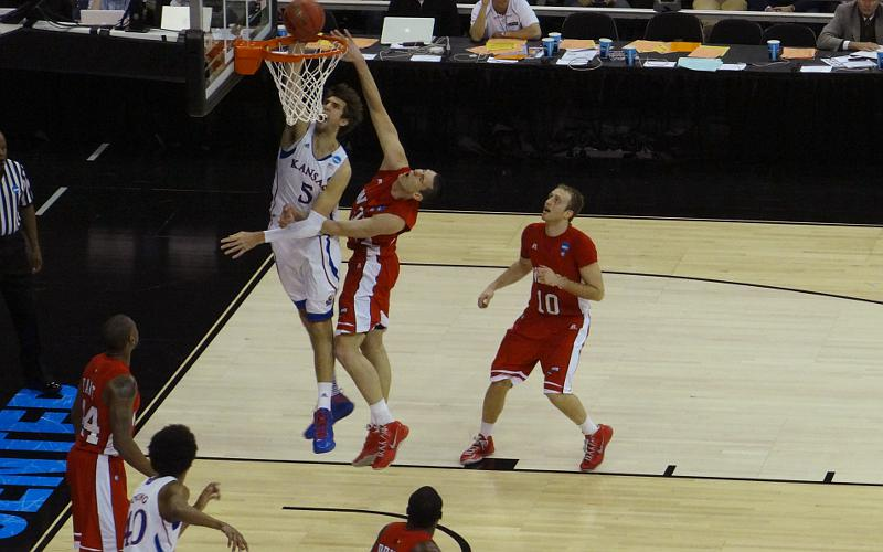 Jeff Withey - Kansas Jayhawks