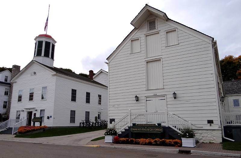 Mackinac Island Courthouse and city offices