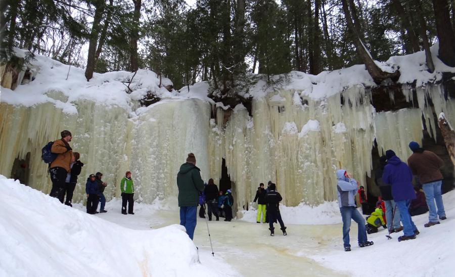 Eben Ice Caves - Michigan