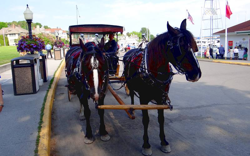 Arrowhead Carriages on Mackinac Island