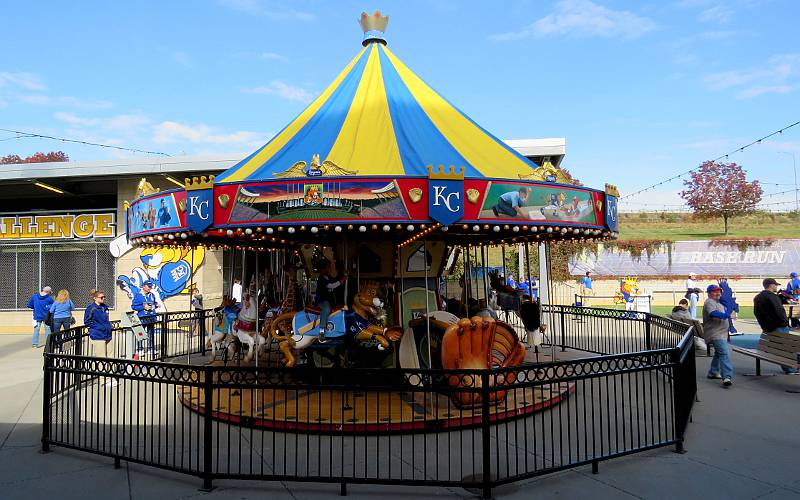 Outfield Experience Carousel - KC Kauffman Stadium