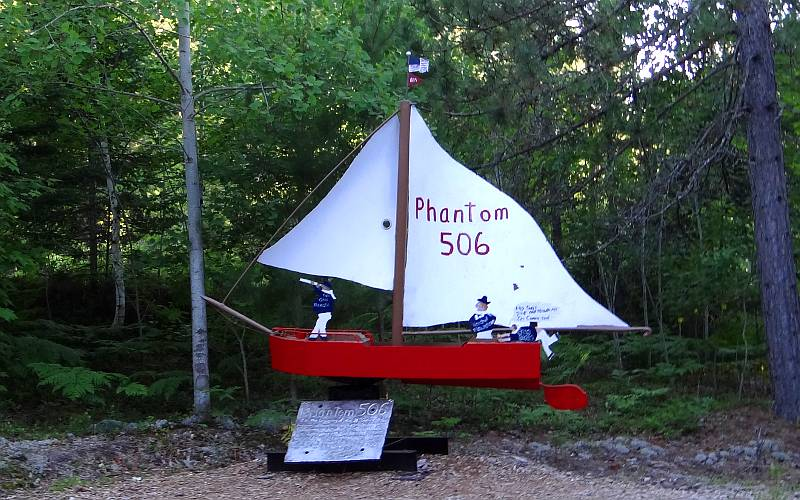Phantom 506 sailboat