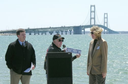 Kim Nowack, Chief Engineer for the Mackinac Bridge Authority