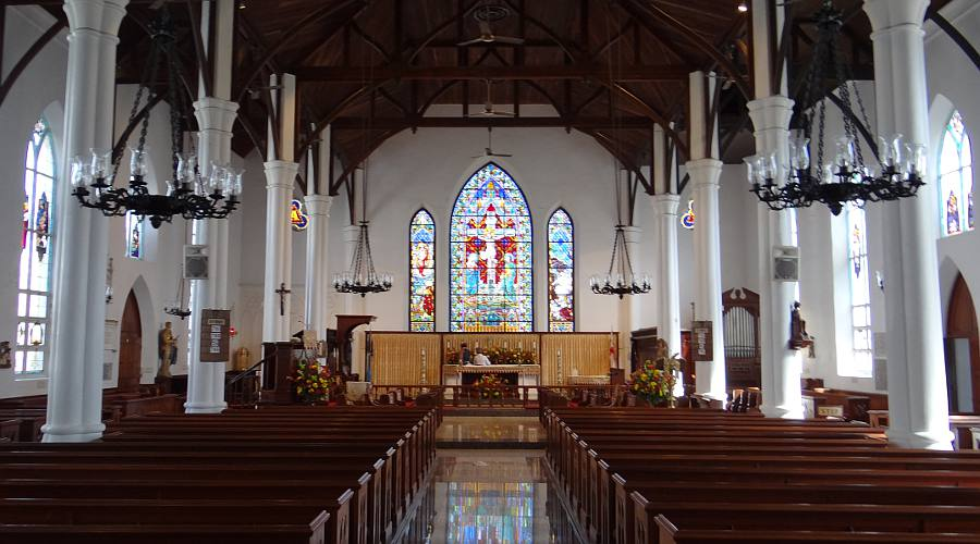 Nassau Bahamas Christ Church Cathedral