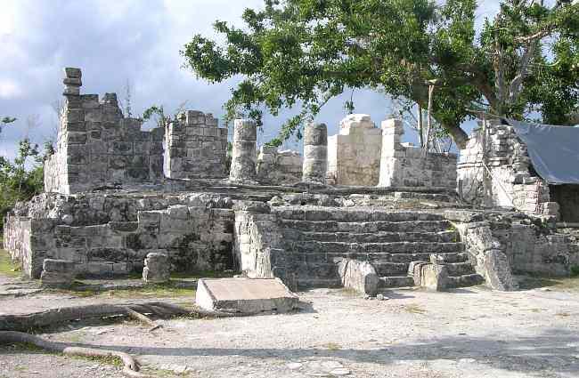 Touring Mayan Ruins At San Gervasio On Cozumel