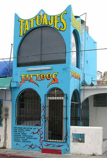San Miguel tattoo parlor