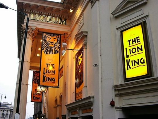 Lion King at the Lyceum Theater