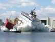 Launch of Coast Guard Cutter Mackinaw