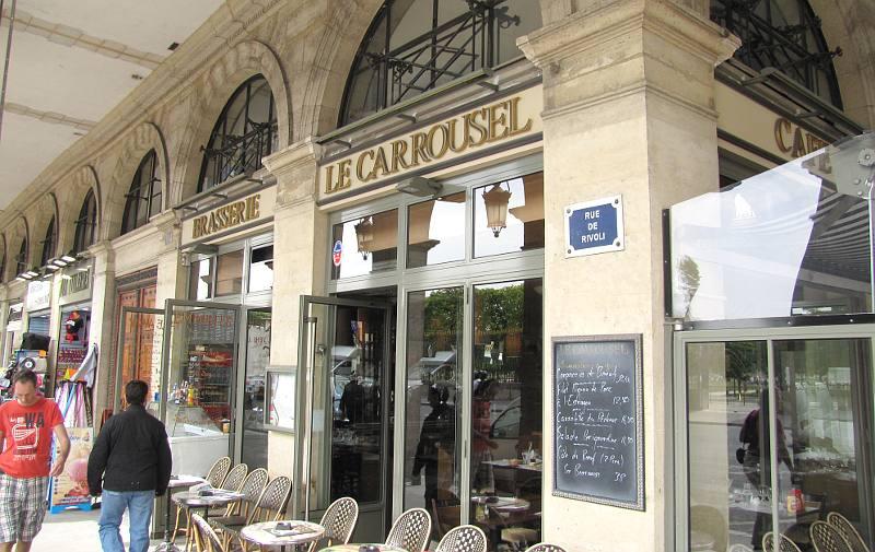 Brasserie le carrousel de paris jardin des tuileries for Brasserie le jardin