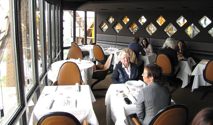 engaged at the jules verne restaurant in the eiffel tower. Black Bedroom Furniture Sets. Home Design Ideas