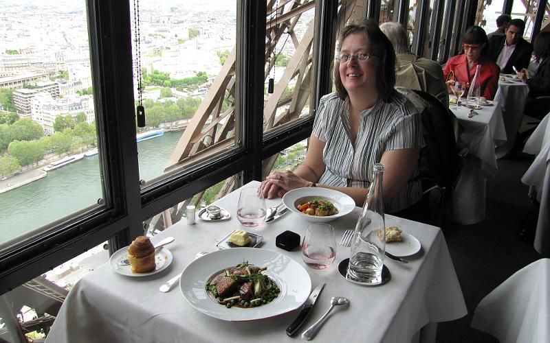 Engaged At The Jules Verne Restaurant In The Eiffel Tower