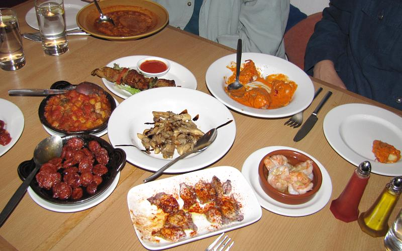 Fortnum mason and andalucia tapas restaurant for Andalucia cuisine