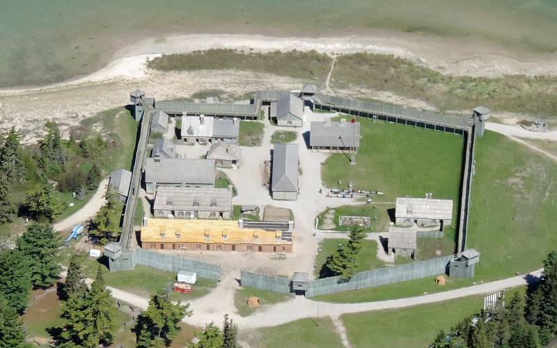 Fort Mackinac Map