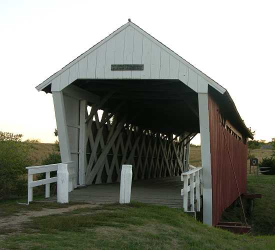 Imes Covered Bridge - Madison County, Iowa