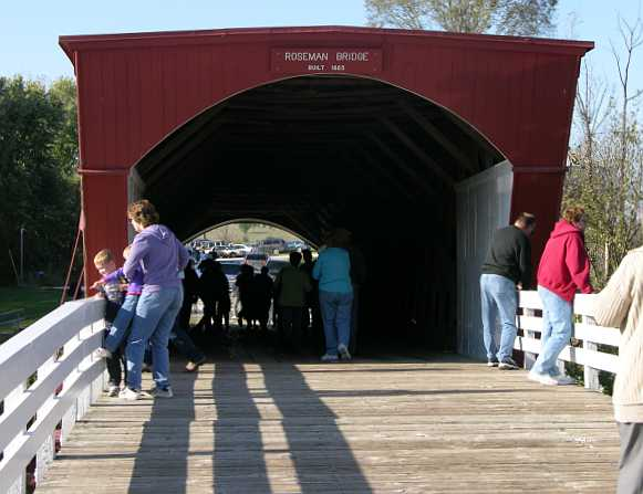 Roseman Bridge - Maidson County covered bridge