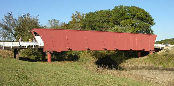 Hogback Covered Bridge - Winterset, Iowa