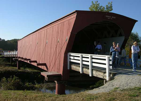Hogback Covered Bridge - Madison County, Iowa