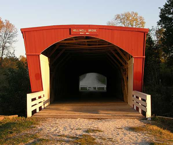 Hallowell Covered Bridge - Madison County