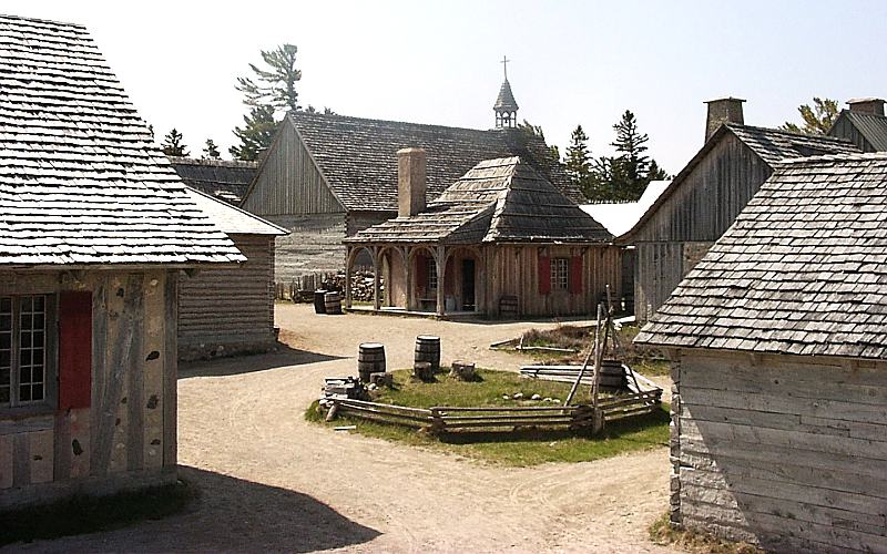 Community at Colonial Fort Michilimackinac