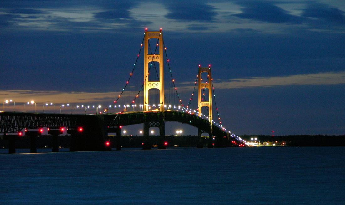 Image result for mackinac bridge gif