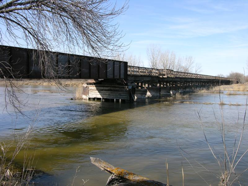 Platte RIver Bridge at Fort Kearny State Historical Park