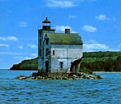 Round Island Lighthouse   1972