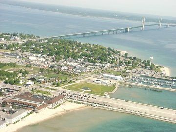 Mackinaw City, Mackinac Bridge
