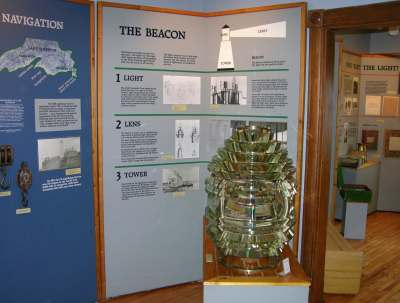 Point Iroquois Lighthouse museum